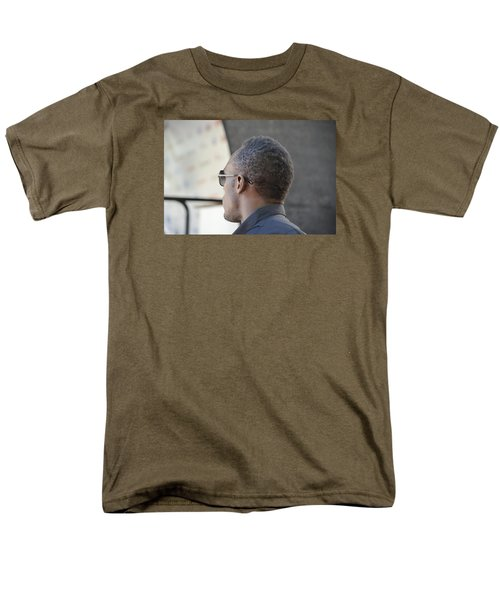 Men's T-Shirt  (Regular Fit) featuring the photograph Usain Bolt - The Legend 2 by Teo SITCHET-KANDA