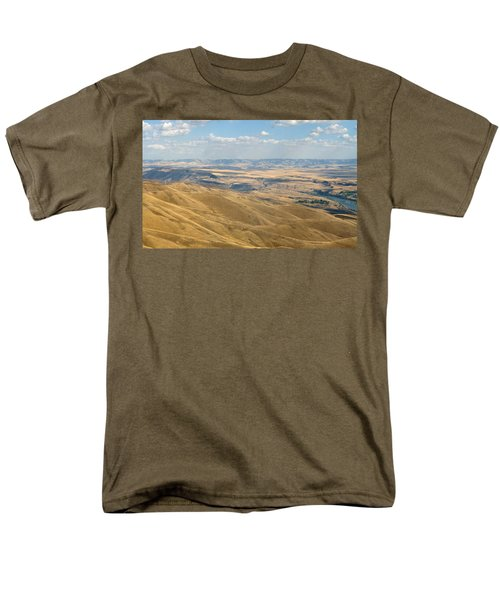 Men's T-Shirt  (Regular Fit) featuring the photograph Valley View by Mark Greenberg