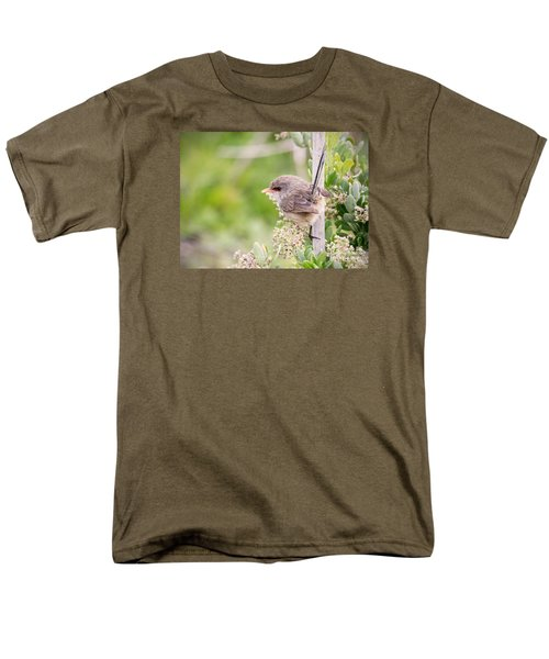 Variegated Fairywren  Men's T-Shirt  (Regular Fit) by Kym Clarke