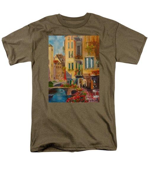 Venic Canal 1 Men's T-Shirt  (Regular Fit) by Jenny Lee