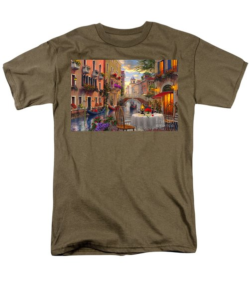 Venice Al Fresco Men's T-Shirt  (Regular Fit) by Dominic Davison