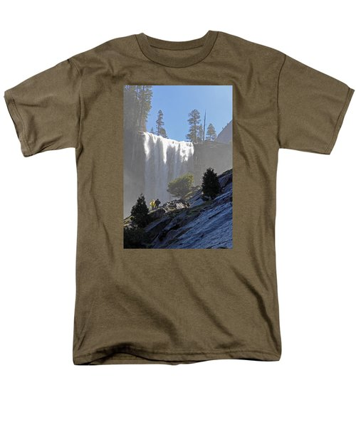 Vernal Falls Mist Trail Men's T-Shirt  (Regular Fit) by Duncan Selby
