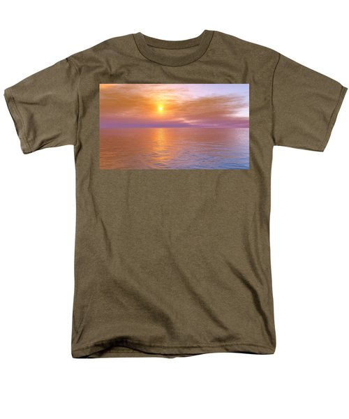 Men's T-Shirt  (Regular Fit) featuring the digital art Verona Beach by Mark Greenberg
