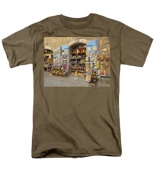 Men's T-Shirt  (Regular Fit) featuring the photograph Village Shop Display by Pema Hou