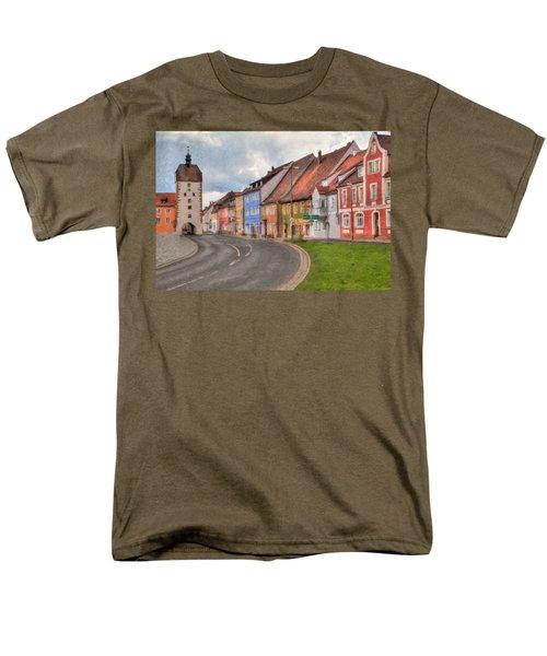 Vilseck Marktplatz Men's T-Shirt  (Regular Fit)