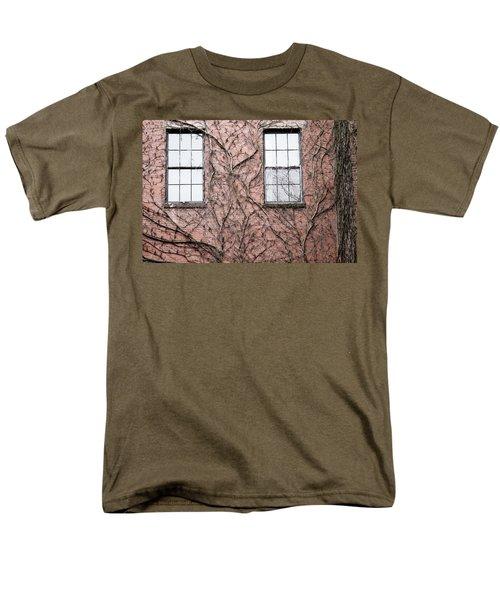Vines And Brick Men's T-Shirt  (Regular Fit)