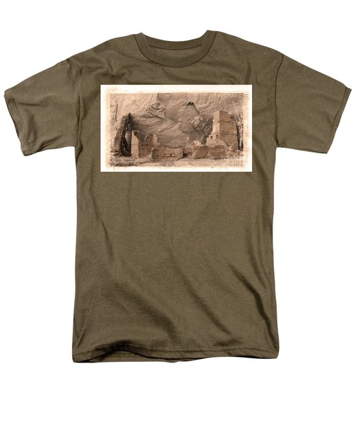 Vintage Canyon De Chelly Men's T-Shirt  (Regular Fit) by Jerry Fornarotto