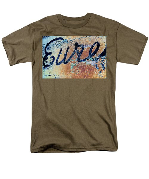 Men's T-Shirt  (Regular Fit) featuring the photograph Vintage Eureka by Steven Bateson