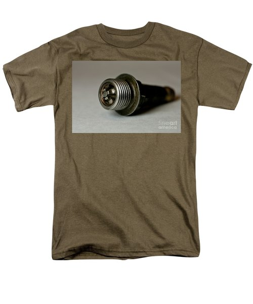Vintage Spark Plug  Men's T-Shirt  (Regular Fit) by Wilma  Birdwell