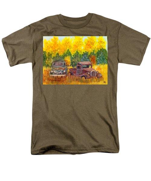 Vintage Trucks Men's T-Shirt  (Regular Fit) by Belinda Lawson