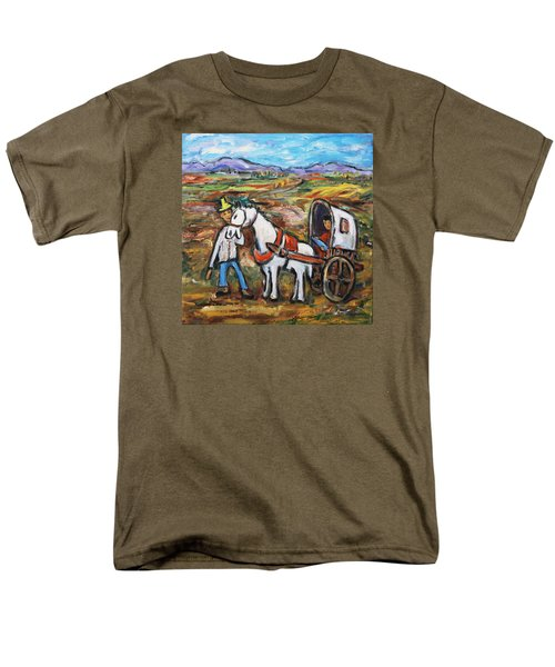 Men's T-Shirt  (Regular Fit) featuring the painting Visit The In-laws by Xueling Zou