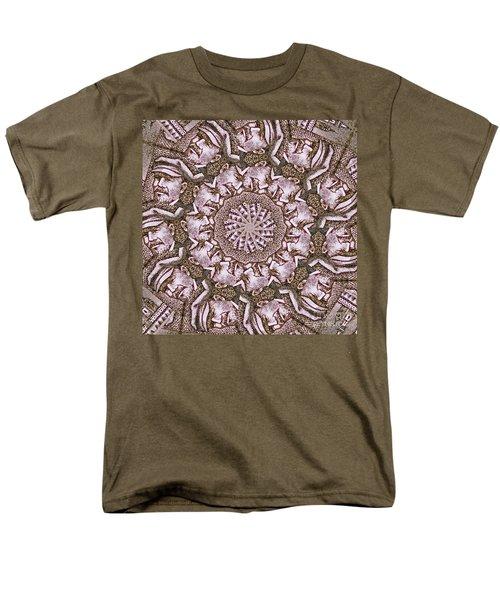 Vladimir Ilyich Lenin Mandala Men's T-Shirt  (Regular Fit) by Andy Prendy
