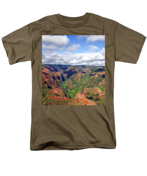 Men's T-Shirt  (Regular Fit) featuring the photograph Waimea Canyon by Amy McDaniel