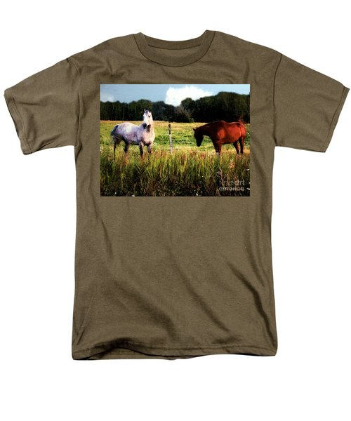 Waiting For Apples Men's T-Shirt  (Regular Fit) by RC deWinter