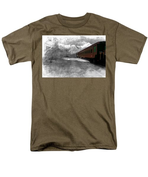 Waiting For The Take Off Men's T-Shirt  (Regular Fit) by Gunter Nezhoda