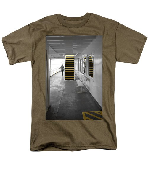 Men's T-Shirt  (Regular Fit) featuring the photograph Walk This Way by Marilyn Wilson