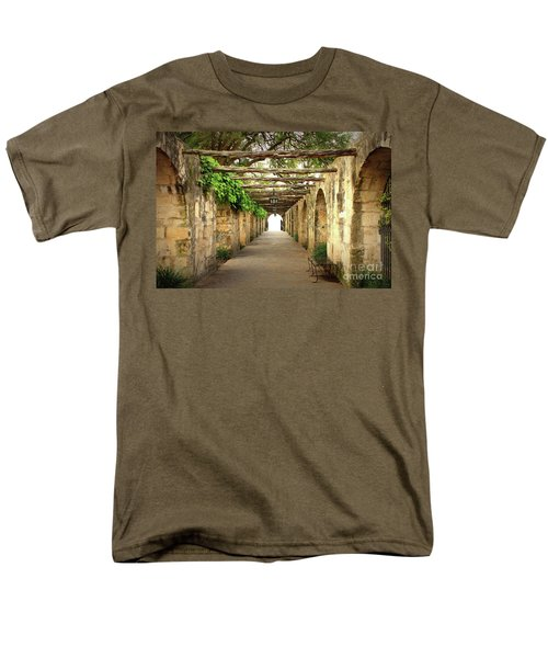Walk To The Light Men's T-Shirt  (Regular Fit)