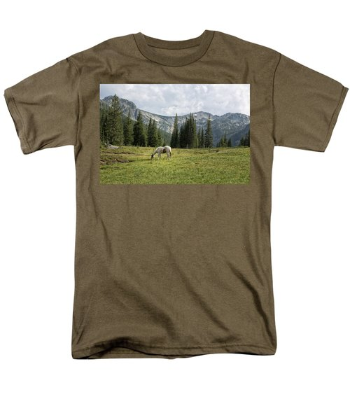 Wallowas - No. 2 Men's T-Shirt  (Regular Fit) by Belinda Greb