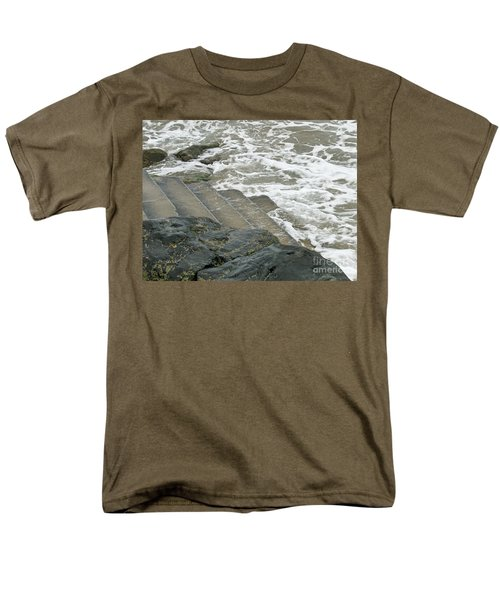 Men's T-Shirt  (Regular Fit) featuring the photograph Watch Your Step by Brenda Brown