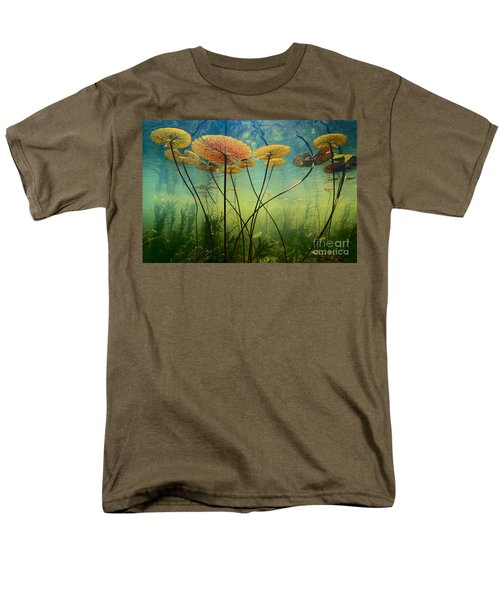Water Lilies Men's T-Shirt  (Regular Fit) by Frans Lanting MINT Images