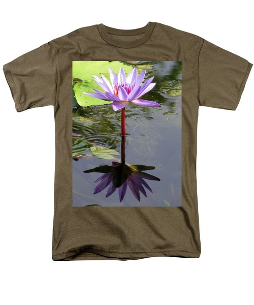 Water Lily - Shaded Men's T-Shirt  (Regular Fit)