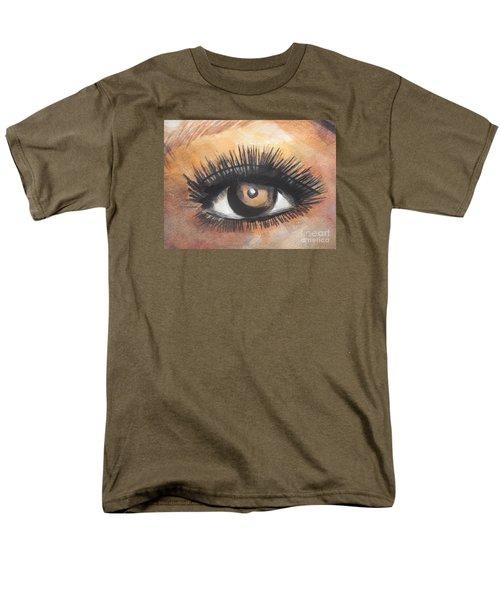 Watercolor Eye Men's T-Shirt  (Regular Fit) by Chrisann Ellis