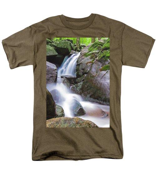 Waterfall Men's T-Shirt  (Regular Fit) by Eduard Moldoveanu