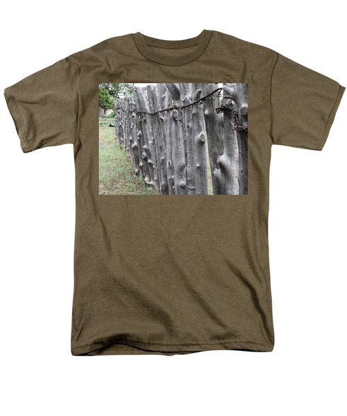 Men's T-Shirt  (Regular Fit) featuring the photograph Weathered by Natalie Ortiz