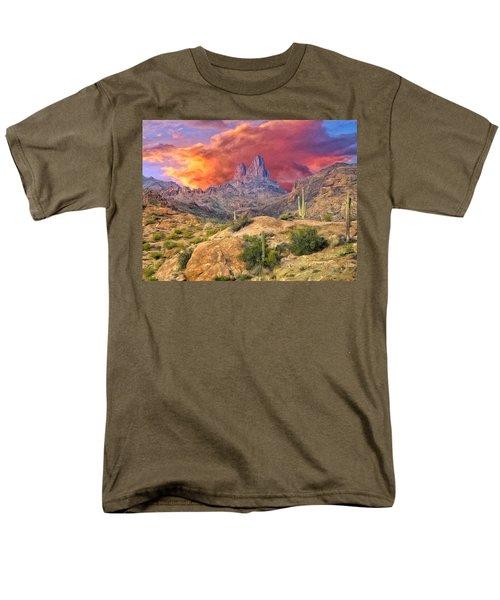Weavers Needle Men's T-Shirt  (Regular Fit) by Dominic Piperata