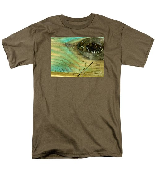 Whale Eye Men's T-Shirt  (Regular Fit) by Michael Cinnamond