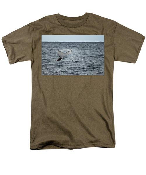 Men's T-Shirt  (Regular Fit) featuring the photograph Whale Of A Time by Miroslava Jurcik