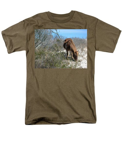 Men's T-Shirt  (Regular Fit) featuring the photograph What Do I See Here? by Photographic Arts And Design Studio