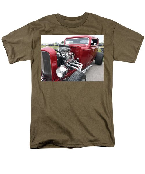 Men's T-Shirt  (Regular Fit) featuring the photograph What Pipes by Caryl J Bohn