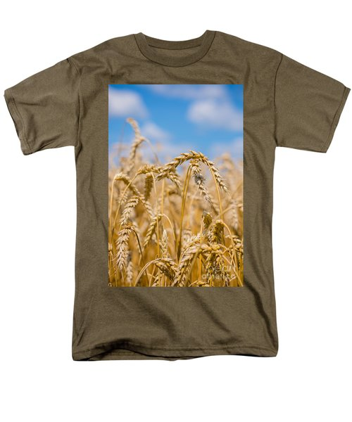 Wheat Men's T-Shirt  (Regular Fit) by Cheryl Baxter