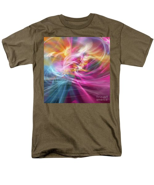 Men's T-Shirt  (Regular Fit) featuring the digital art When Prayers Enter The Throne Room by Margie Chapman