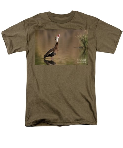 Whistling Duck Whistling Men's T-Shirt  (Regular Fit) by Bryan Keil