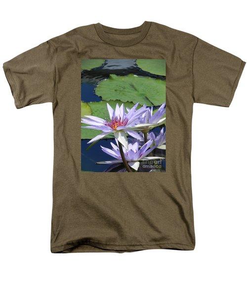 Men's T-Shirt  (Regular Fit) featuring the photograph White Lilies by Chrisann Ellis