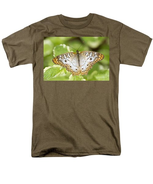 White Peacock Men's T-Shirt  (Regular Fit) by Bryan Keil
