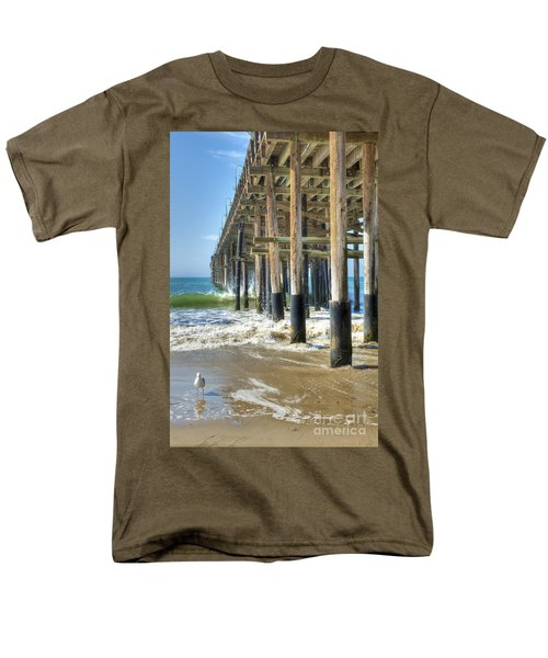 Who Are You Looking At Men's T-Shirt  (Regular Fit) by David Zanzinger