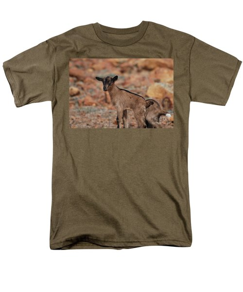 Wild Baby Goat Men's T-Shirt  (Regular Fit) by DejaVu Designs