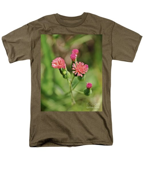Men's T-Shirt  (Regular Fit) featuring the photograph Wild Flower by Olga Hamilton