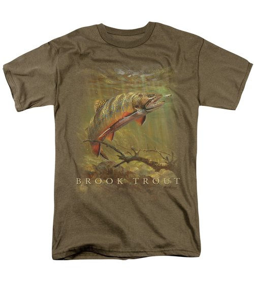 Wildlife - Brook Trout Men's T-Shirt  (Regular Fit) by Brand A