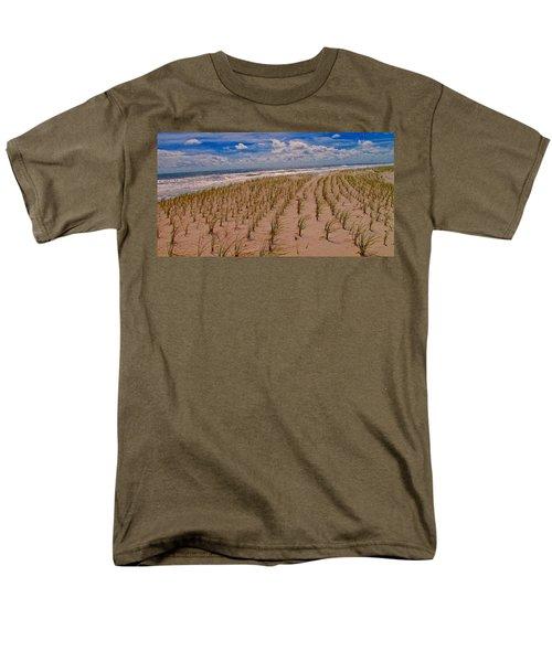 Wildwood Beach Breezes  Men's T-Shirt  (Regular Fit) by David Dehner
