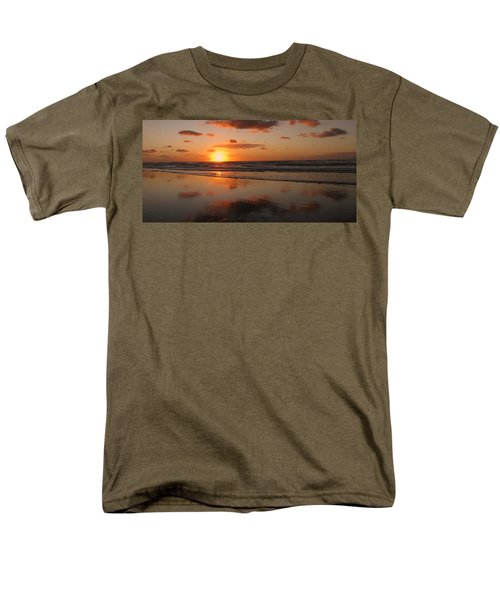 Wildwood Beach Sunrise Men's T-Shirt  (Regular Fit) by David Dehner