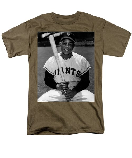 Willie Mays Men's T-Shirt  (Regular Fit) by Gianfranco Weiss
