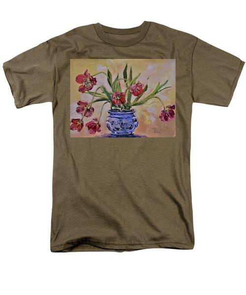 Wilting Tulips Men's T-Shirt  (Regular Fit)