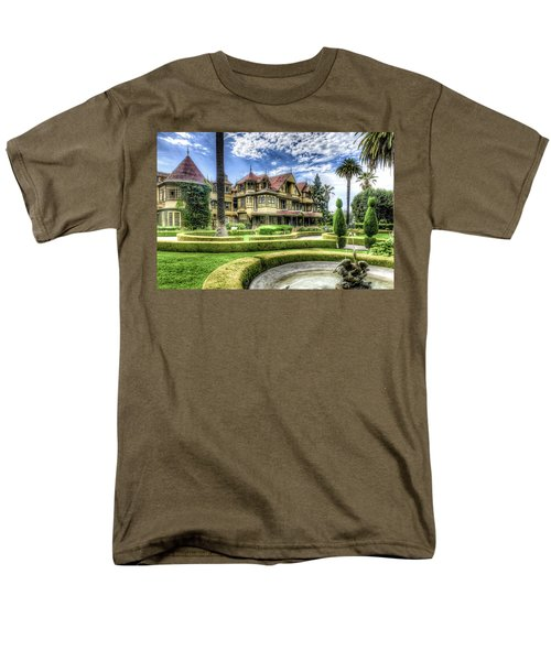 Winchester Mystery House Men's T-Shirt  (Regular Fit) by Jim Thompson