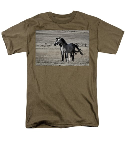Men's T-Shirt  (Regular Fit) featuring the photograph Windblown D3560 by Wes and Dotty Weber