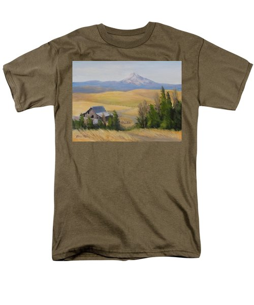 Men's T-Shirt  (Regular Fit) featuring the painting Windswept by Karen Ilari