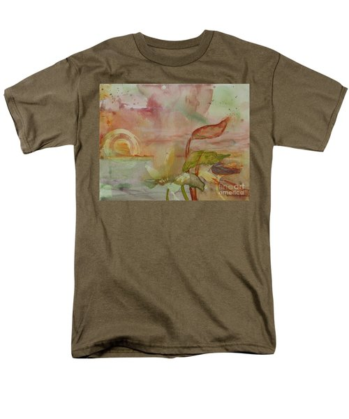 Men's T-Shirt  (Regular Fit) featuring the painting Windswept by Robin Maria Pedrero
